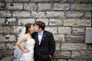 Wedding at the Distillery District, Toronto