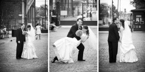 Distillery District wedding photography by Silverlight photography, Toronto