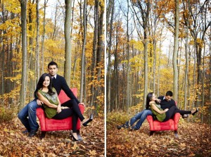 Caledon engagement shoot