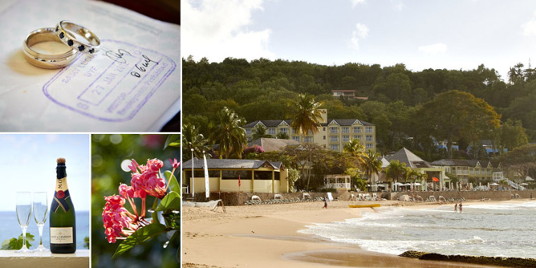 sandals st lucia wedding