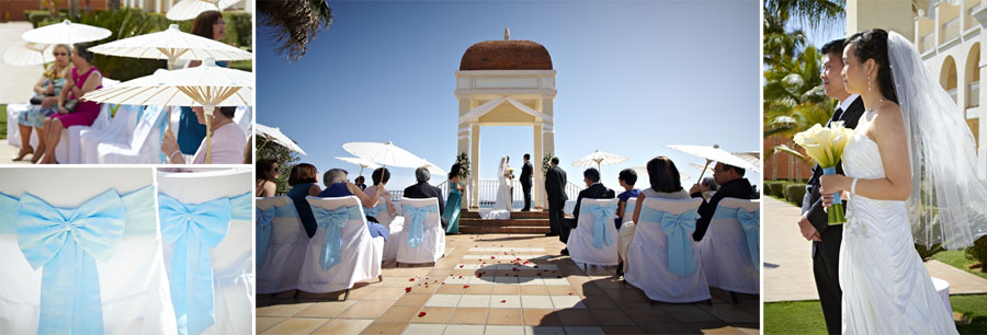 RIU Palace mexico destination wedding ceremony