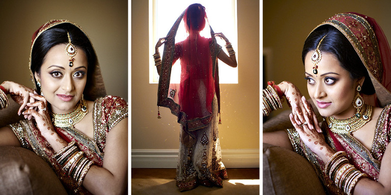 Hindu wedding photography by Silverlight