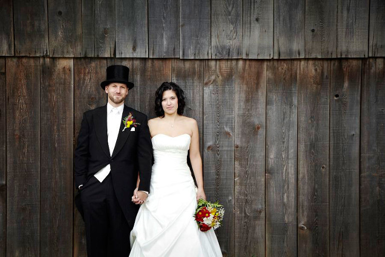 black creek pioneer village fall wedding by silverlight photography