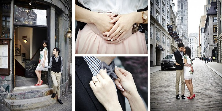 silverlight photography engagement session in old port montreal