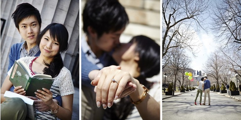 mcgill university engagement photos