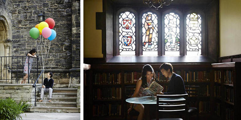 university of toronto engagement session