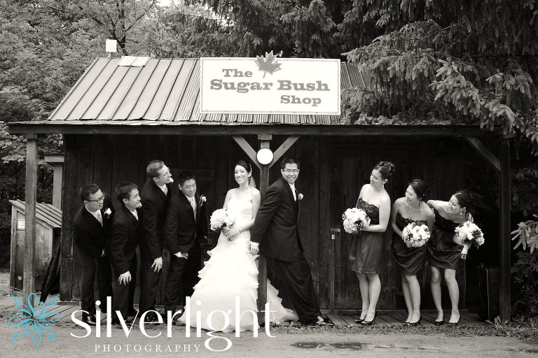 kortright centre wedding photo